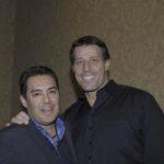 Paco Bazán with Tony Robbins